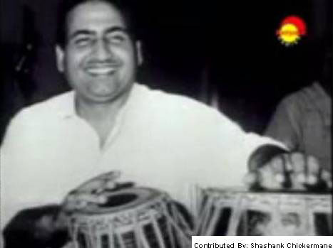 Mohd Rafi on Tabla