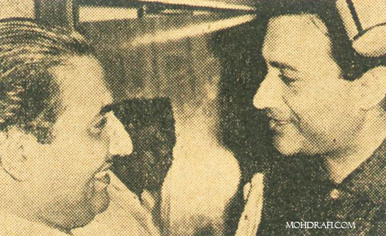 Dev Anand and Mohd Rafi