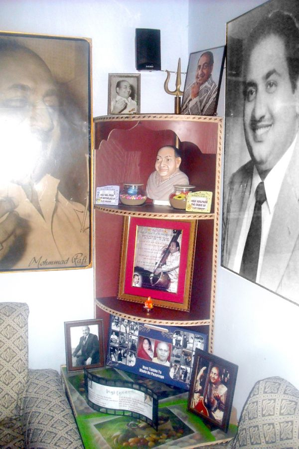 Temple of RAFI SAHAB in my room
