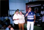 Mr.Syed Mobin welcoming Mr.Mohd Aziz and lt is Kakaji Naushad - At Naushad Hall.jpg