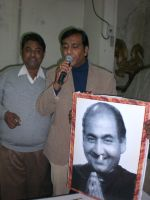Members of Rafi Foundation Memorial Society in Delhi celebrating 84th birthday of the legend on 24th December 2008.jpg