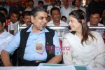 Nagma, Jagdish Tytler at cricket match organised by Bablu Aziz in Santacruz on 16th Aug 2009 (6).JPG