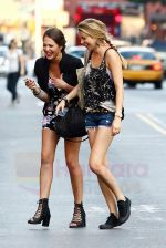 Whitney Port on the set of THE CITY in New York City on 25th August 2009 - IANS-WENN (4).jpg