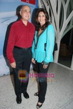 ranjeev with indu shahani at Narendra Kumar Ahmed_s calendar launch for Swiss International Air Lines in Tote on 22nd July 2010 (4).JPG