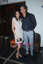 Alecia Raut, Acquin Pais at RWITC press meet in Tote on 11th Nov 2010 (13).JPG