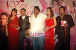 Sara Khan, Ganesh Acharya, Santosh Sawant at the launch of Santosh Sawant_s album in Club Millennium on 13th Feb 2011 (14).JPG