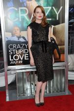 Emma Stone at the New York premiere of the movie Crazy, Stupid, Love at the Ziegfeld Theatre on 19th July 2011 (1).jpg