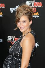 Jessica Alba arrives at the Spy Kids- All The Time In The World 4D Los Angeles Premiere on July 31, 2011 in Los Angeles, California (18).jpg