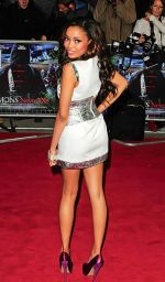 Dionne Bromfield arrives to the UK Premiere of Demons Never Die in Odeon West End, Leicester Square on 10th October 2011 (1).jpg
