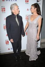 Michael Douglas and Catherine Zeta-Jones arrives at the 6th Annual _A Fine Romance_ Benefit in Sony Studios on 15th October 2011 (2).jpg