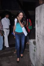 Yami Gautam at Abhishek Bachchan_s screening of Bol Bachchan for John Abraham in Ketnav, Mumbai on 13th July 2012 (102).JPG