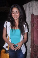 Yami Gautam at Abhishek Bachchan_s screening of Bol Bachchan for John Abraham in Ketnav, Mumbai on 13th July 2012 (110).JPG