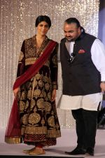 JJ Valaya with Vanya Mishra at Aamby Valley India Bridal Fashion Week 2012 in association with Azva .jpg