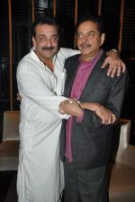 Sanjay Dutt, Shatrughan Sinha at Shatrughan Sinha_s dinner for doctors of Ambani hospital who helped him recover on 16th Dec 2012(198).JPG