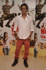 Faraz Haider promote War Chhod Na Yaar in Santacruz, Mumbai on 24th Sept 2013 (57).JPG