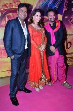 Soumik Sen, Madhuri Dixit, Mushtaq Sheikh at the Special Screening of Gulaab Gang at PVR, Juhu on 6th March 2014 (61)_5319b07179eb6.JPG