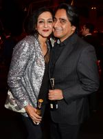 Meera Syal, Sanjeev Bhaskar at Moet British Independent Awards on 7th Dec 2014 (16)_5489427a4022a.JPG