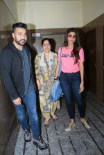 Shilpa Shetty with mother & Raj Kundra spotted PVR juhu on 23rd Aug 2019 (9)_5d624b8cefcda.JPG