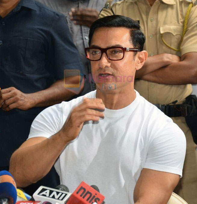 Aamir Khan's Eid Celebration on 7th July 2016