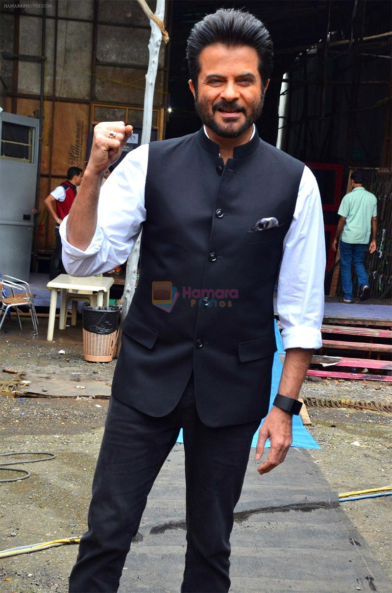 Anil Kapoor on the sets of India's Got Talent in Flimcity on 6th July 2016