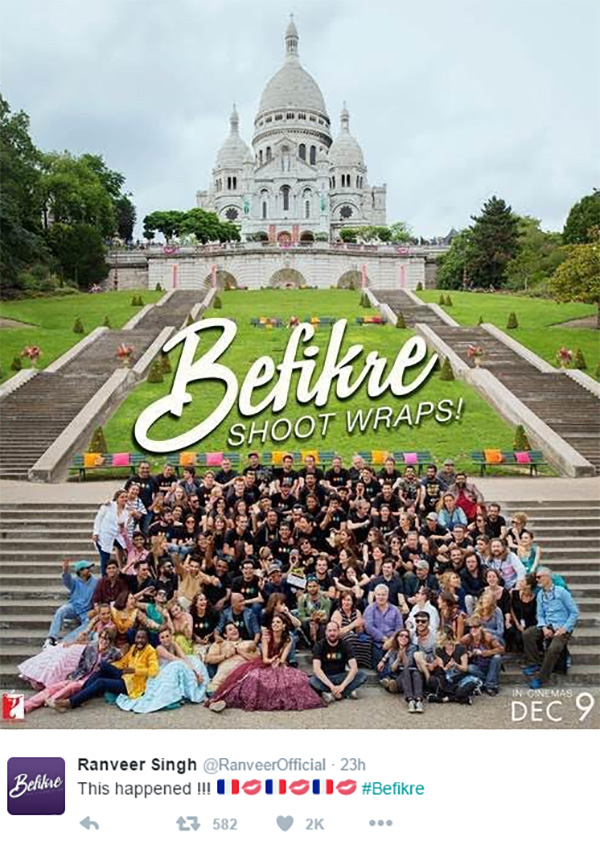 Befikre Shooting Wraps