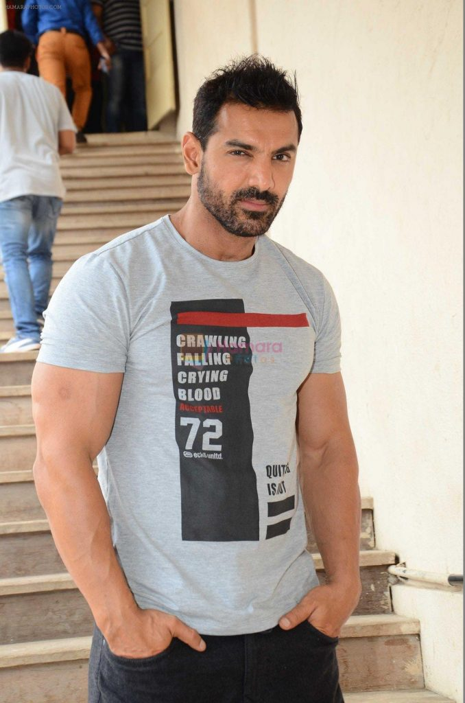 John Abraham snapped in Mumbai on 15th July 2016 shown to user