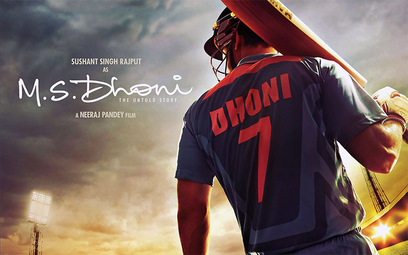 M.S. Dhoni The Untold Story poster