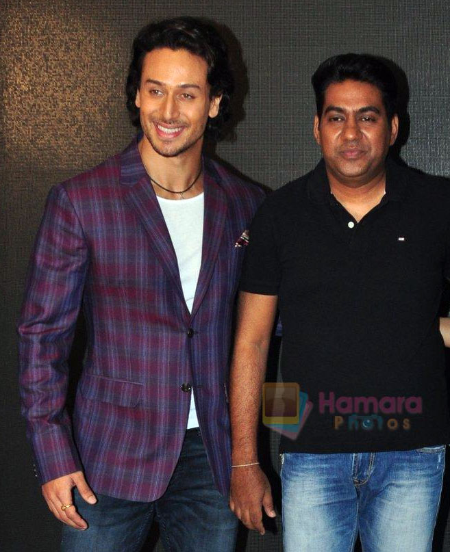 Sabbir Khan and Tiger Shroff